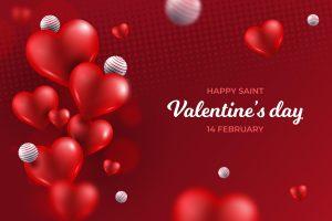 Saint Valentine's Day Red Ecard